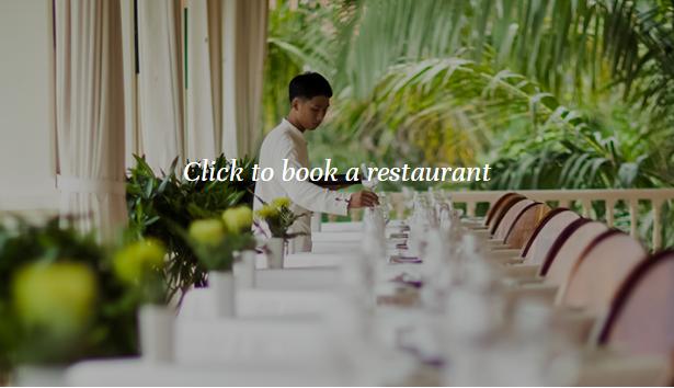 Click to book restaurant